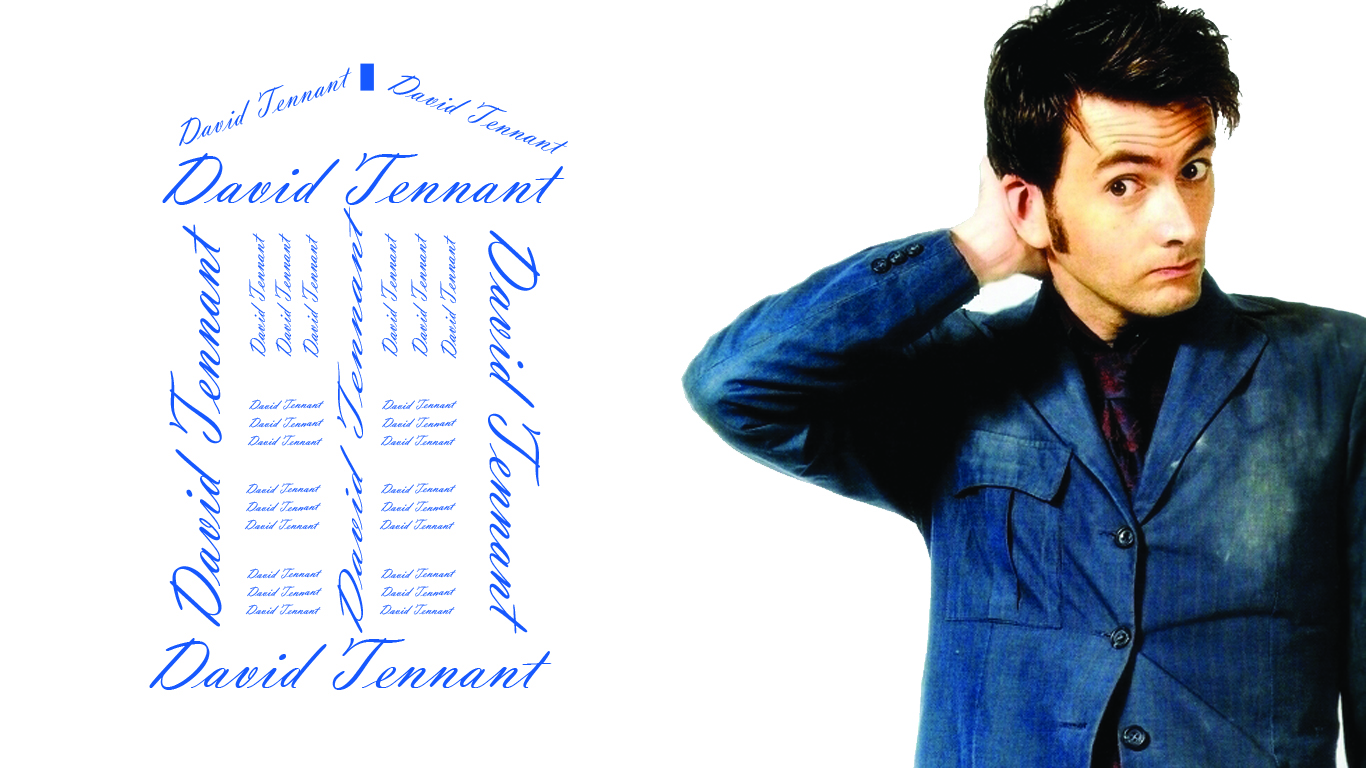Doctor Who Wallpaper David Tennant Quote Doctor Who Wall...